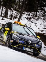 Successful baptism by fire for Clio Rally4