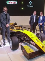 Castrol partners with Renault Sport Racing's customer racing activities